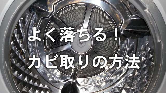 ドラム式洗濯機のカビが取れた洗濯槽