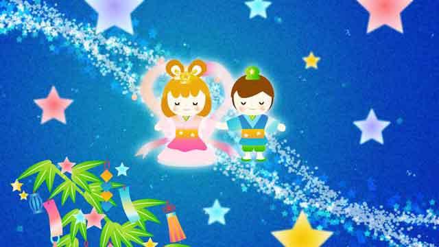 七夕-天の川-織姫と彦星
