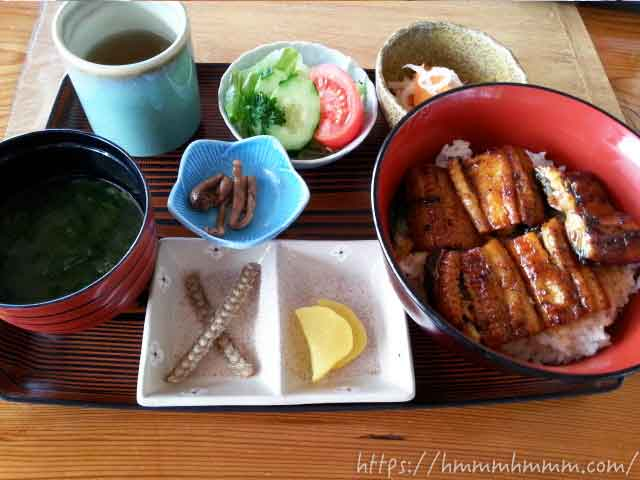 うなぎ丼(天然)2014年当時2,950円