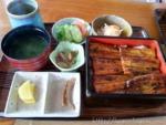 うなぎの蒲焼定食(天然)2014年当時4,100円