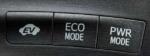 プリウスのEVモードボタン