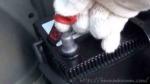 ハイブリッド車用の補機バッテリーのプラス側端子