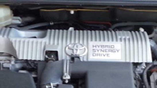 プリウスのエンジン