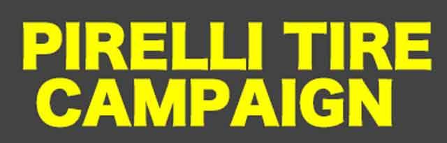 ピレリ キャンペーンのポスター 2018年12月