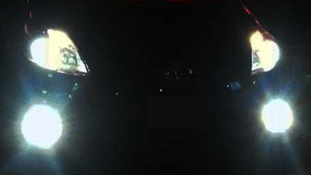 プリウス30のフォグランプ点灯時