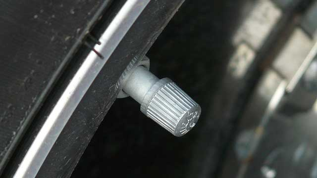 タイヤのバルブキャップ
