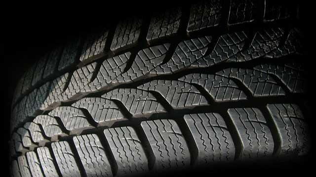 タイヤのパターン