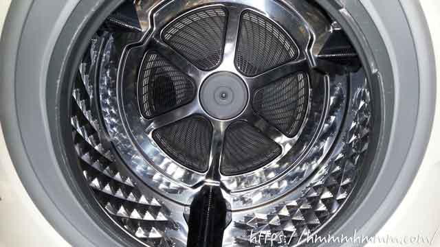 パナソニック製ドラム式洗濯機の洗濯槽