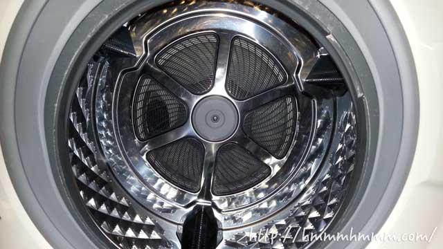 ドラム式洗濯機の洗濯槽
