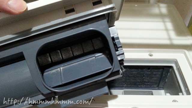 ドラム式洗濯機の乾燥フィルター