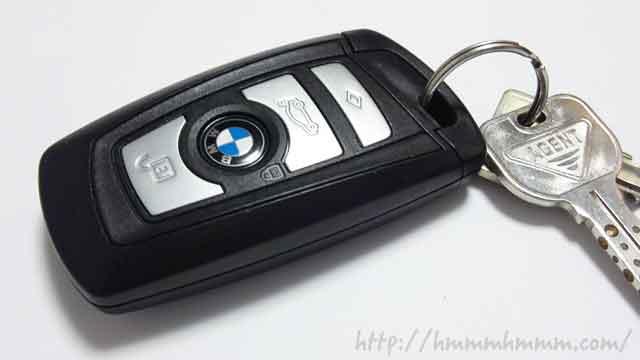 BMWのスマートキー